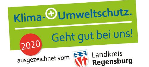 Siegel Umweltschutz Landkreis Regensburg